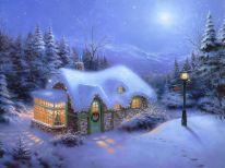 Christmas scene IV